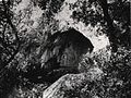 Pilisszántói-kőfülke bejárat Kormos T.jpg