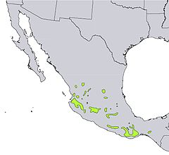 distribución natural