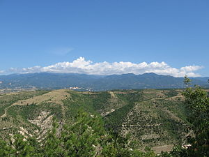 South Pirin in the distance seen from Kalimantsi village