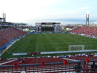 MLS Cup 2005 - MLS Cup 2005 was hosted at Pizza Hut Park in Frisco, Texas, home to FC Dallas.