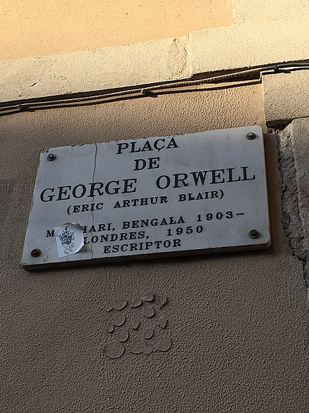 the life of george orwell and political satire in his works 30-11-2017 review of 1984 the life of george orwell and political satire in his works.