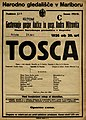 Plakat za predstavo Tosca v Narodnem gledališču v Mariboru 24. aprila 1926.jpg