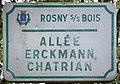 Plaque Allée Erckmann Chatrian - Rosny-sous-Bois (FR93) - 2021-04-15 - 1.jpg