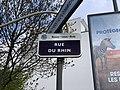 Plaque Rue Rhin - Rosny-sous-Bois (FR93) - 2021-04-15 - 2.jpg