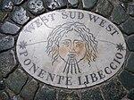 Plaque on Saint Peter's Square -West Sud West.jpg