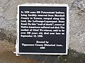 Plaque on Trail Of Death Marker West Lafayette Indiana.jpg