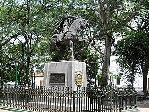 Calabozo - Image: Plazabolivardclbz
