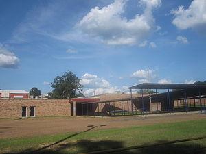 Pleasant Hill, Sabine Parish, Louisiana - Image: Pleasant Hill, LA, High School IMG 2508