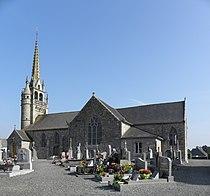 Plouégat-Moysan (29) Église 01.JPG