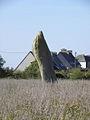 Plouescat (29) Menhir de Porz ar Stréat.JPG
