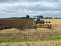 Ploughing near the Leiston road - geograph.org.uk - 963849.jpg