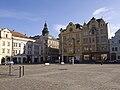 Plzeň, náměstí Republiky, severo-západní část.jpg