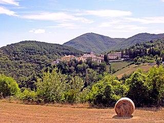Poggiodomo Comune in Umbria, Italy