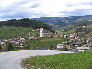 Vitanje - Image: Pogled s Štajnhofa