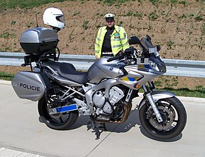 Police of the Czech Republic - Police Yamaha motorbike