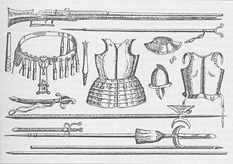 Imperial Russian Army - Gear of the polki novogo stroya, 1647