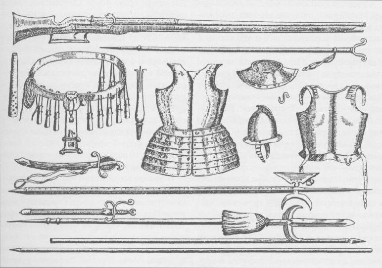 Polk noviy stroy Russia 1647