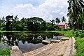 Pond with Ghat - Bardhaman Science Centre - Bardhaman 2015-07-24 1210.JPG