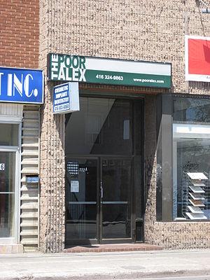 Poor Alex Theatre - Poor Alex Theatre entrance