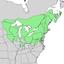 Populus grandidentata range map 2.png