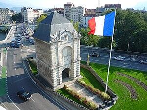Bastille (Grenoble) - Porte de France (1620)