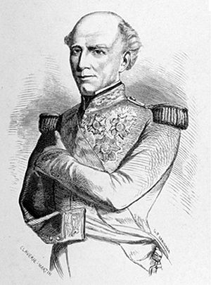 Battle of Veracruz (1838) - Contre-amiral Charles Baudin, a veteran of the Napoleonic wars, commanded the French squadron.