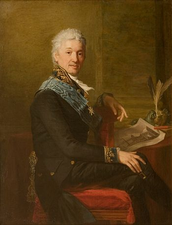English: Portrait of Count Alexander Stroganof...