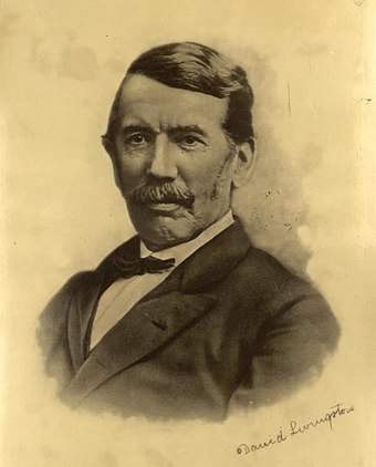Photograph of Livingstone in later life Portrait of David Livingstone (4671614).jpg