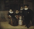 Portrait of a Family (Pieter Codde) - Nationalmuseum - 17542.tif