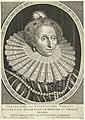 Portret van Elizabeth I Tudor, koningin van Engeland op 48-jarige leeftijd in ovaal, RP-P-OB-50.068.jpg