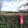 Post box at Drumsloe - geograph.org.uk - 345503.jpg