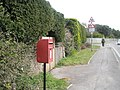 Postbox just before junction of Seafront and St George's Road - geograph.org.uk - 742764.jpg