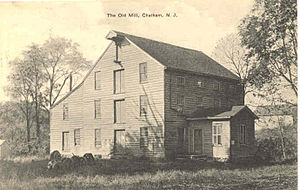 Chatham Borough, New Jersey - Old Mill at Chatham, from a 1911 postcard