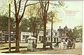 Postcard showing Fairfield, Connecticut business district with horse and buggies.jpg