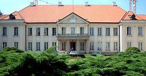Potocki Palace, Warsaw - Inner courtyard