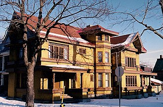 Francis Conroy Sullivan - Patrick J. Powers Residence at James and Bay in Ottawa Ontario