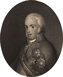El príncipe regente don Juan en 1804.