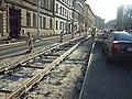 Praha, Radlice, rekonstrukce tramvajové trati VII.jpg