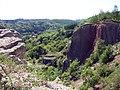 Praha - Hlubočepy - View SW into Prokopské údolí.jpg
