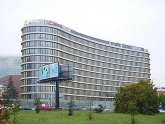 Avast - Enterprise Office Center building, Avast headquarter in Prague