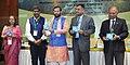 Prakash Javadekar releasing the Compendium 'Environment in the Indian Parliament 2011-2015 (CD Format)', at the National Interaction-cum-evaluation workshop for Environmental Information System (ENVIS) centres, in New Delhi.jpg