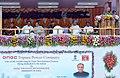 Pranab Mukherjee addressing after dedicating the 726 MW Palatana Power Plant of ONGC Tripura Power Corporation to the Nation, at Palatana, South Tripura. The Governor, Tripura, Shri Devanand Konwar.jpg