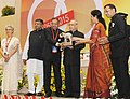 Pranab Mukherjee presented an award at the inauguration of the Diamond Jubilee celebrations of Engineering Export Promotion Council of India (EEPC India) (1).jpg