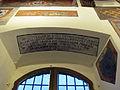 Prato, palazzo pretorio, secondo piano, salone, iscrizione ricci.JPG