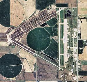 Pratt Army Airfield - 2006 Airphoto of the former Pratt Army Airfield
