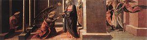 Barbadori Altarpiece - Image: Predella pala barbadori, uffizi, 01