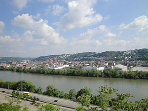 John Ormsby (Pittsburgh) - Present Day Photo of the South Side in Pittsburgh, Pennsylvania