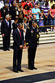 President Barack Obama and U.S. Army Maj. Gen. Michael S. Linnington, the commanding general of Joint Force Headquarters-National Capital Region and the U.S. Army Military District of Washington, observe 130527-A-ND257-099.jpg