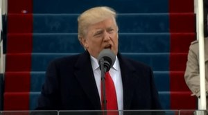 קובץ:President Trump's Inaugural Address.webm