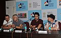 Press Conference by Sakarin Sothamsamai, Somchai Khemklad, Actor Jacco Groen, Director and racit Celikezer, at the 43rd International Film Festival of India (IFFI-2012), in Panaji, Goa on November 25, 2012.jpg
